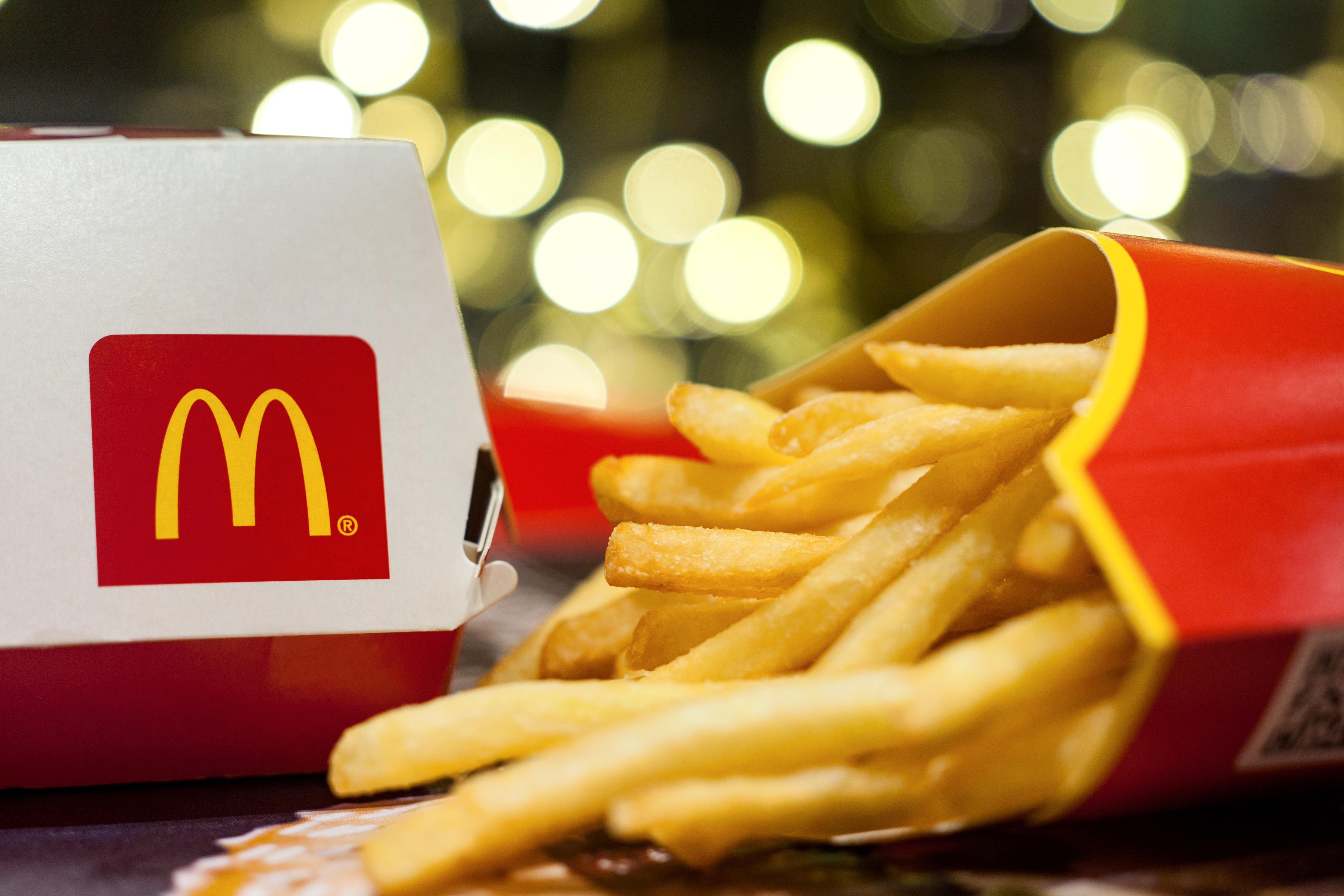 Componente químico usado em batatas fritas do McDonald's pode curar calvície