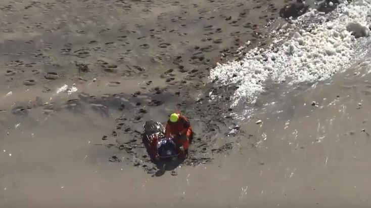 Jovem morre atingido por derrocada em praia de Sintra