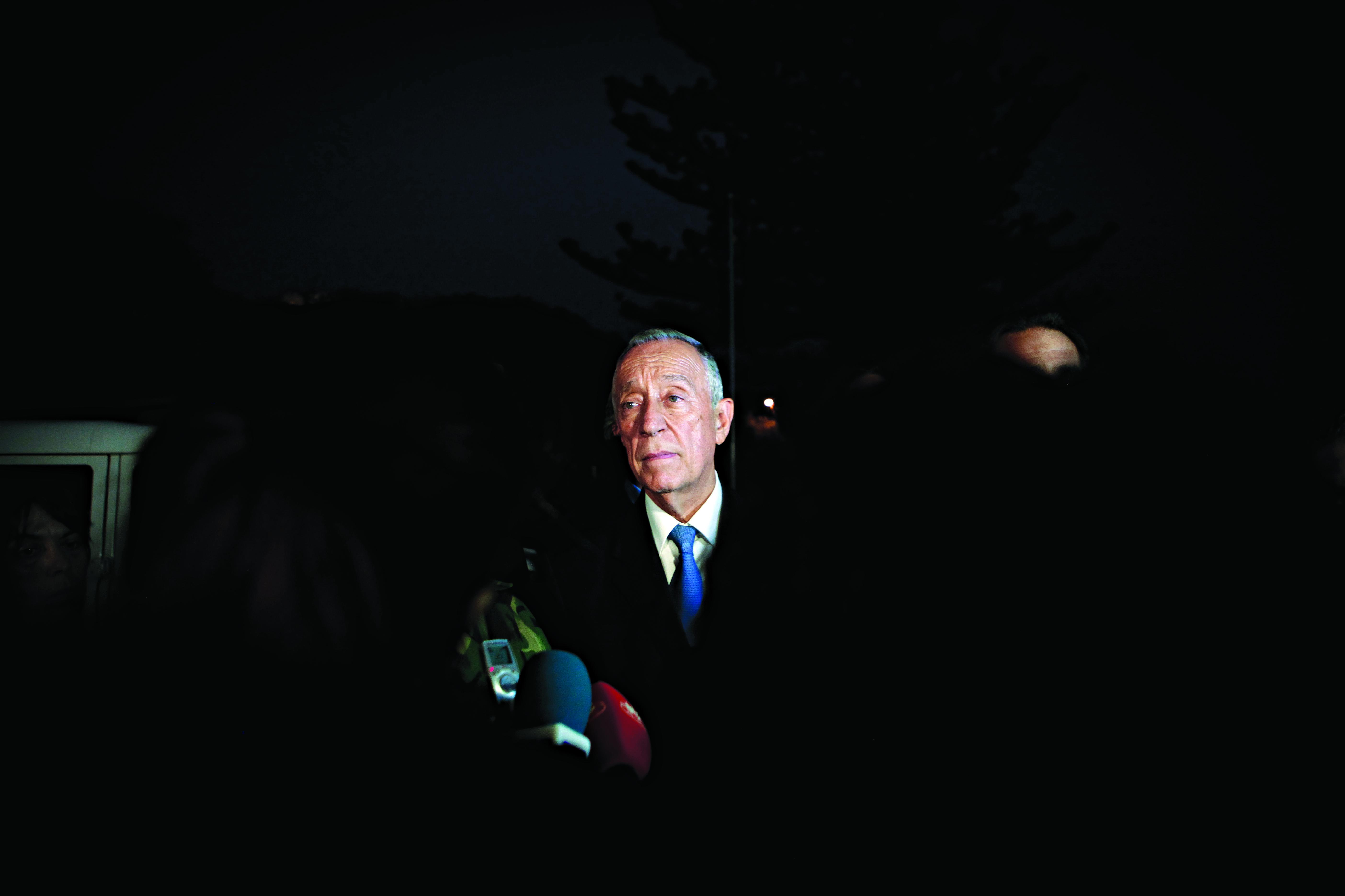 Marcelo não fala sobre questões internas de Espanha e espera reciprocidade