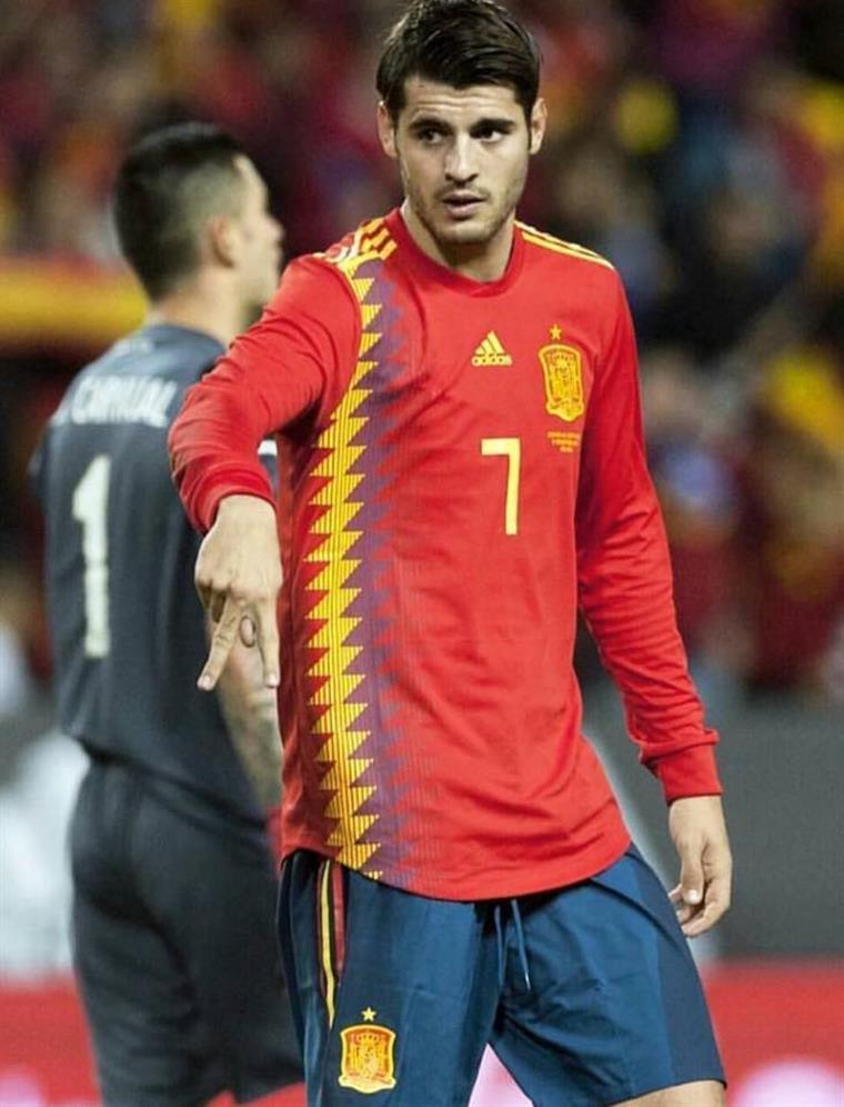 1e8a24a449 Espanha. Morata é ausência de peso no Mundial