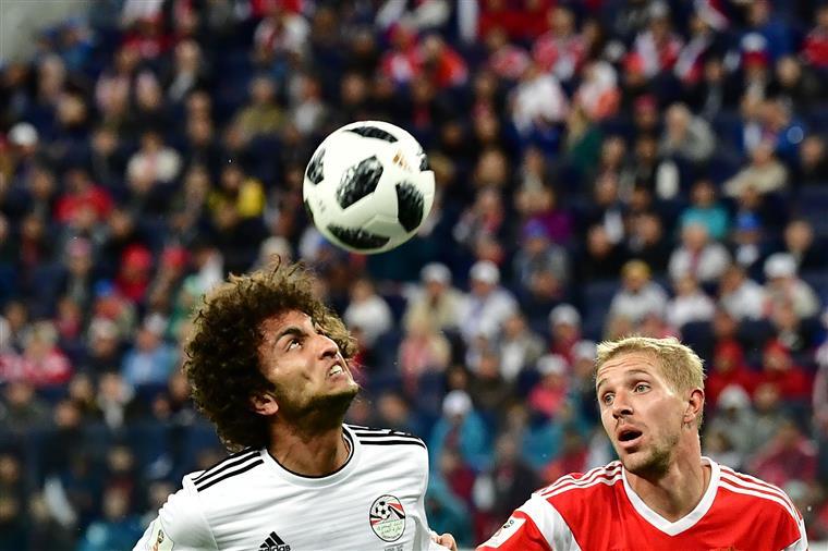 Mundial 2018. Rússia vence Egito por 3-1