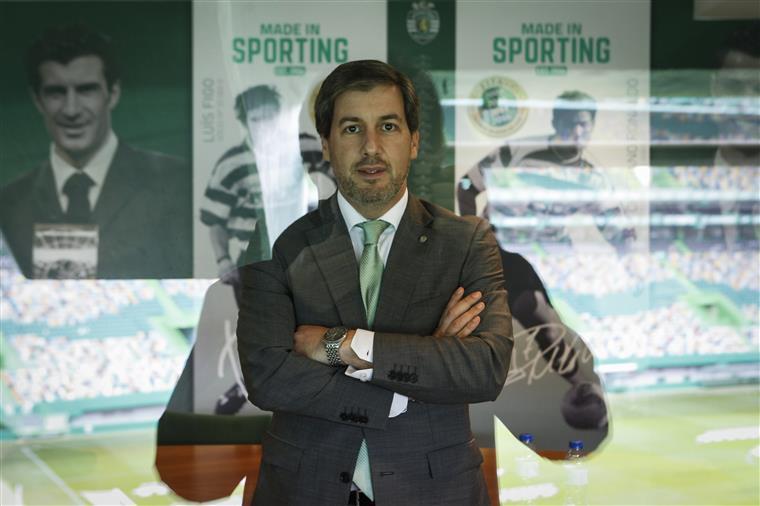 Bruno de Carvalho fala esta noite na Sporting TV