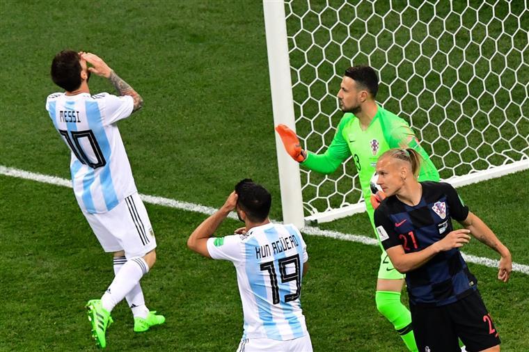 Mundial 2018. Argentina mais perto da despedida depois de derrota com a Croácia