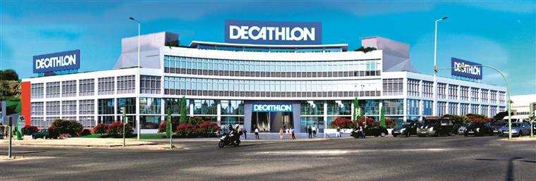 Loja da Decathlon vai conservar fachada do Batista Russo