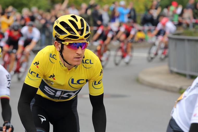 Ciclista galês acabou em terceiro este sábado