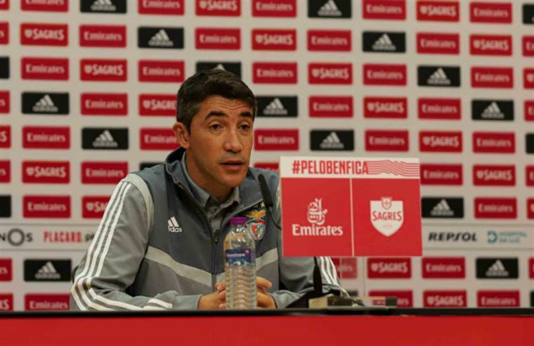 Benfica. Bruno Lage renova até 2024