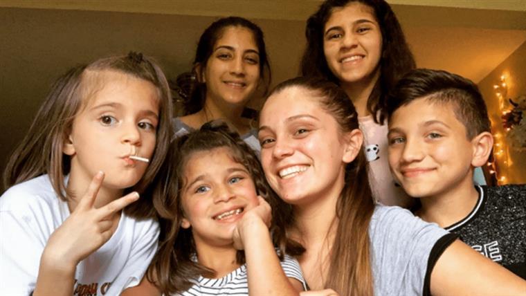 Aos 21 anos, Samantha cuida sozinha dos cinco irmãos