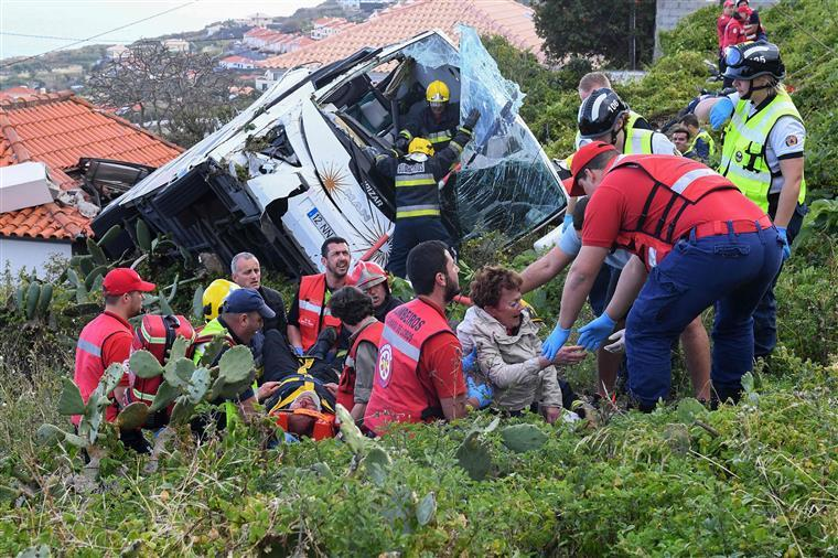Última vítima alemã internada no Funchal transferida para a Alemanha