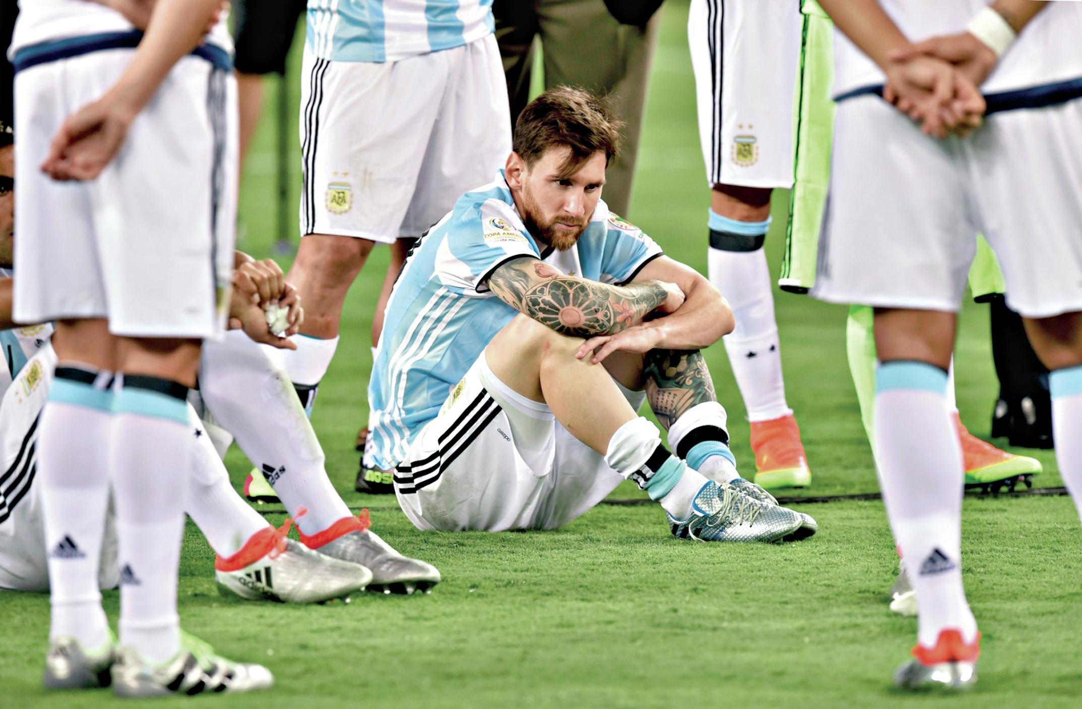 Messi perdida de peso