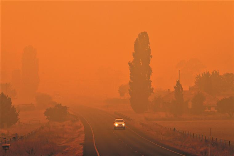 Austrália. Número de vítimas mortais em incêndios sobre para 29