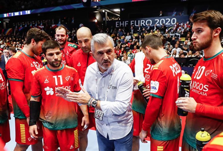 Portugal perde com a Islândia no Europeu de andebol