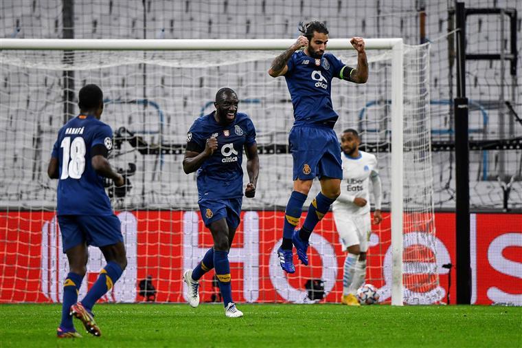 Liga dos Campeões. FC Porto vence Marselha e fica a um ponto dos oitavos-de-final