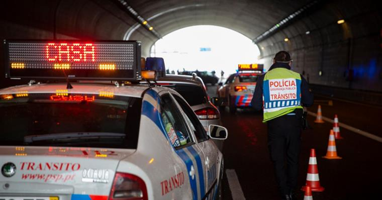 15 pessoas infetadas com covid-19 detidas durante a Operação Páscoa em Casa