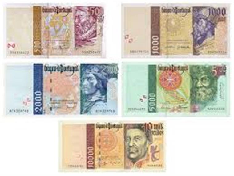 Cidadãos ainda têm 95,7 milhões de euros em notas de escudo