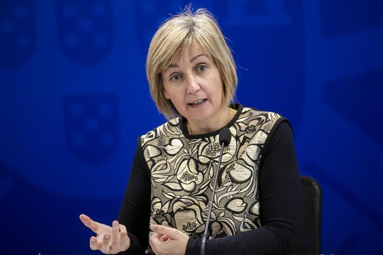 """Ministra recusa falar em """"descontrolo"""" da pandemia e reforça confiança nas """"chefias do país"""" e na diretora-geral da Saúde"""