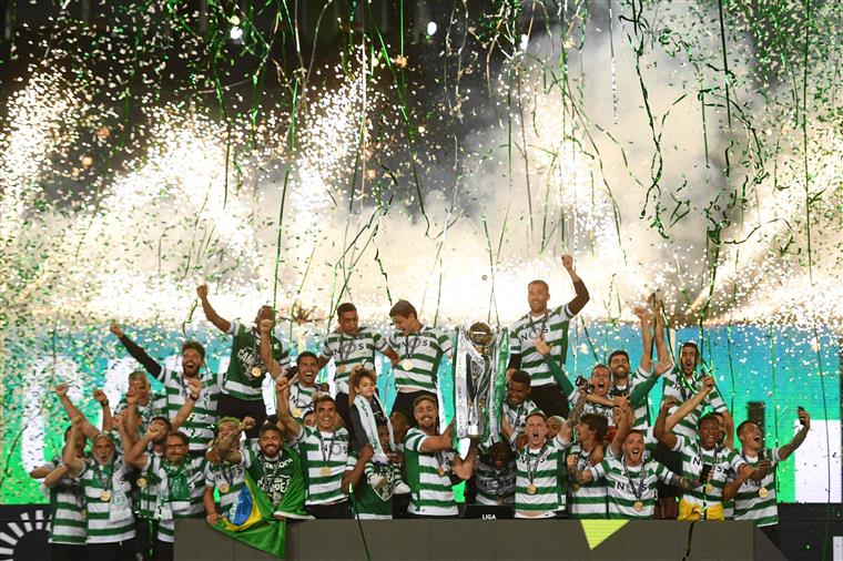 Receção do Sporting na Câmara de Lisboa sem adeptos