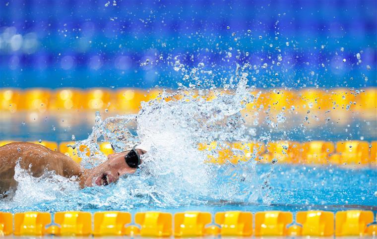 Nadador José Paulo Lopes consegue 20.º nos 400 metros estilos na estreia olímpica