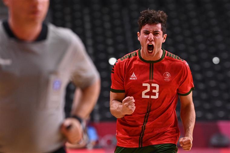 Estreia olímpica do andebol português começa com derrota frente ao Egito